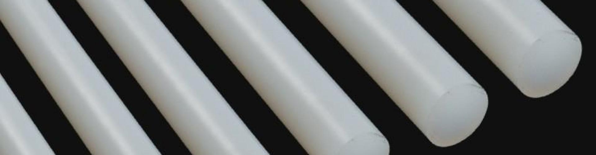 Barras redondas de nylon