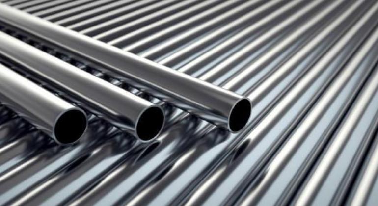 Distribuidor de matérias-primas como aço inox, bronze e cobre